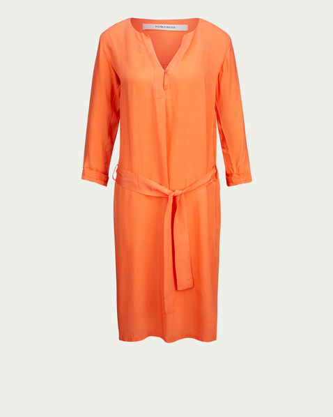 HUMANOID Kleid in Orange