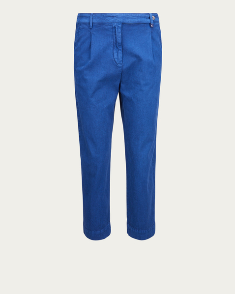 MYTHS Chino in leuchtend Blau