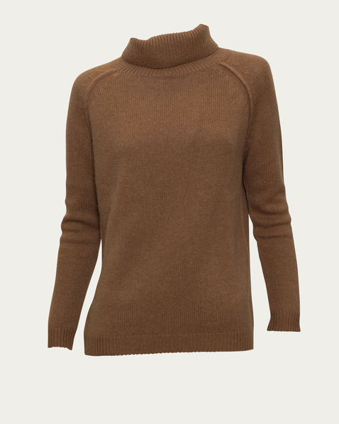 Not Clothing But Makeup Is Just As Important To Finish A: Rollkragenpullover Aus Kaschmir In Beige