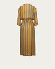LA FEE MARABOUTEE Kleid in Gold gestreift