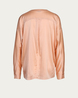 IHEART Seidenbluse in Apricot