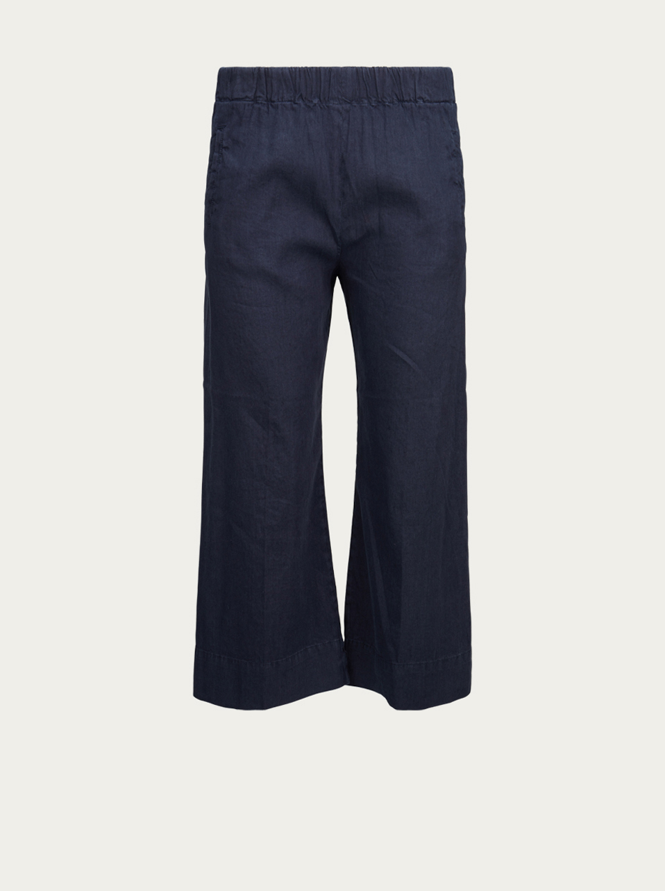 TRUE NYC DENIM Weite Hose in Dunkelblau