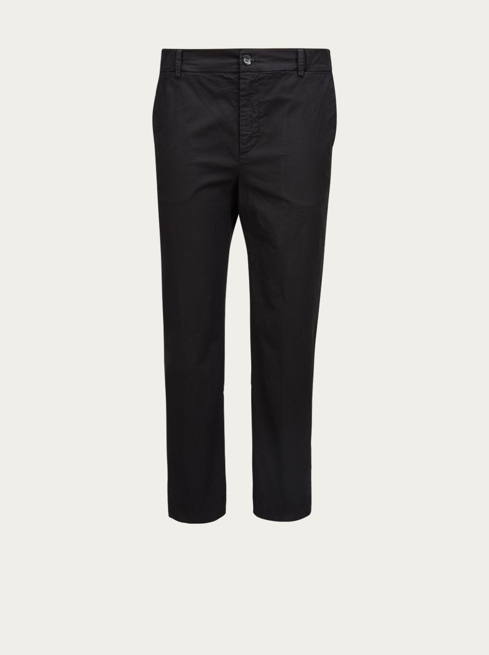 TRUE NYC DENIM Chino-Hose in Schwarz