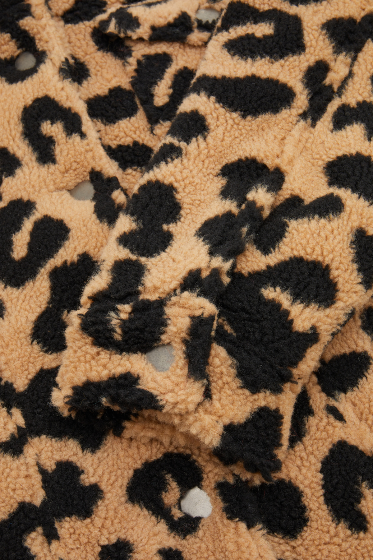 APPARIS Teddy-Jacke mit Leoprint 434706